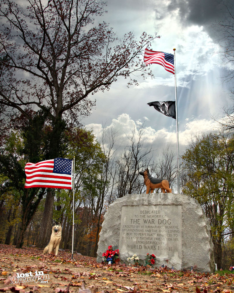 Michigan War Dog Memorial