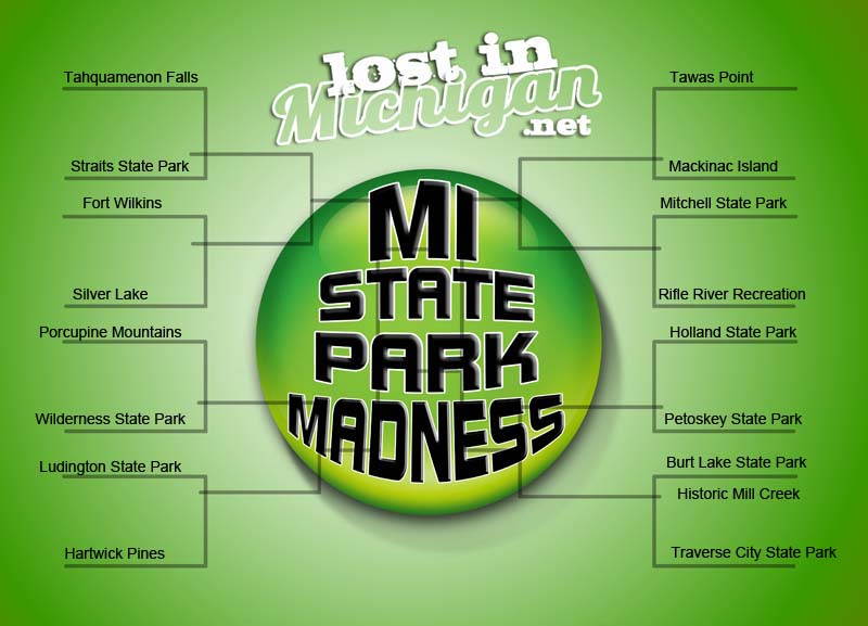 Michigan State Parks March Madness