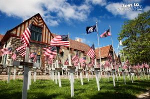 midland michigan courthouse flags