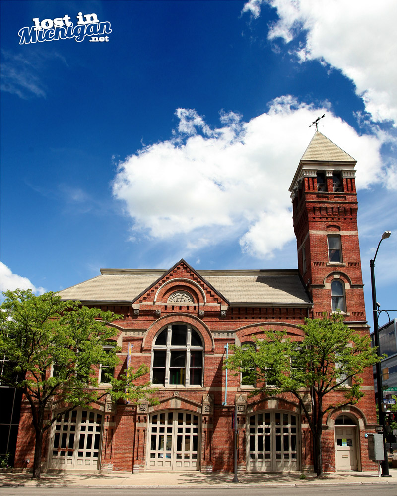 ann arbor michigan fire station engine house