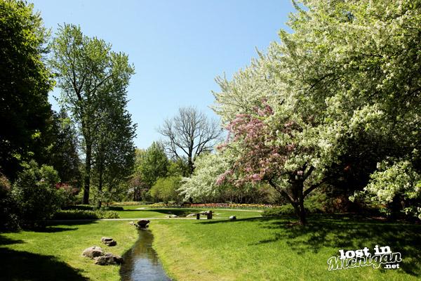 Lost In Michigan | Springtime at Dow Gardens in MidlandSpringtime at ...