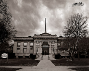 port huron library 2 bw