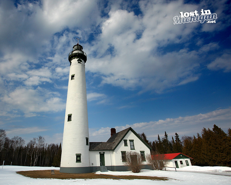 Presque Isle Michigan Lighthouse