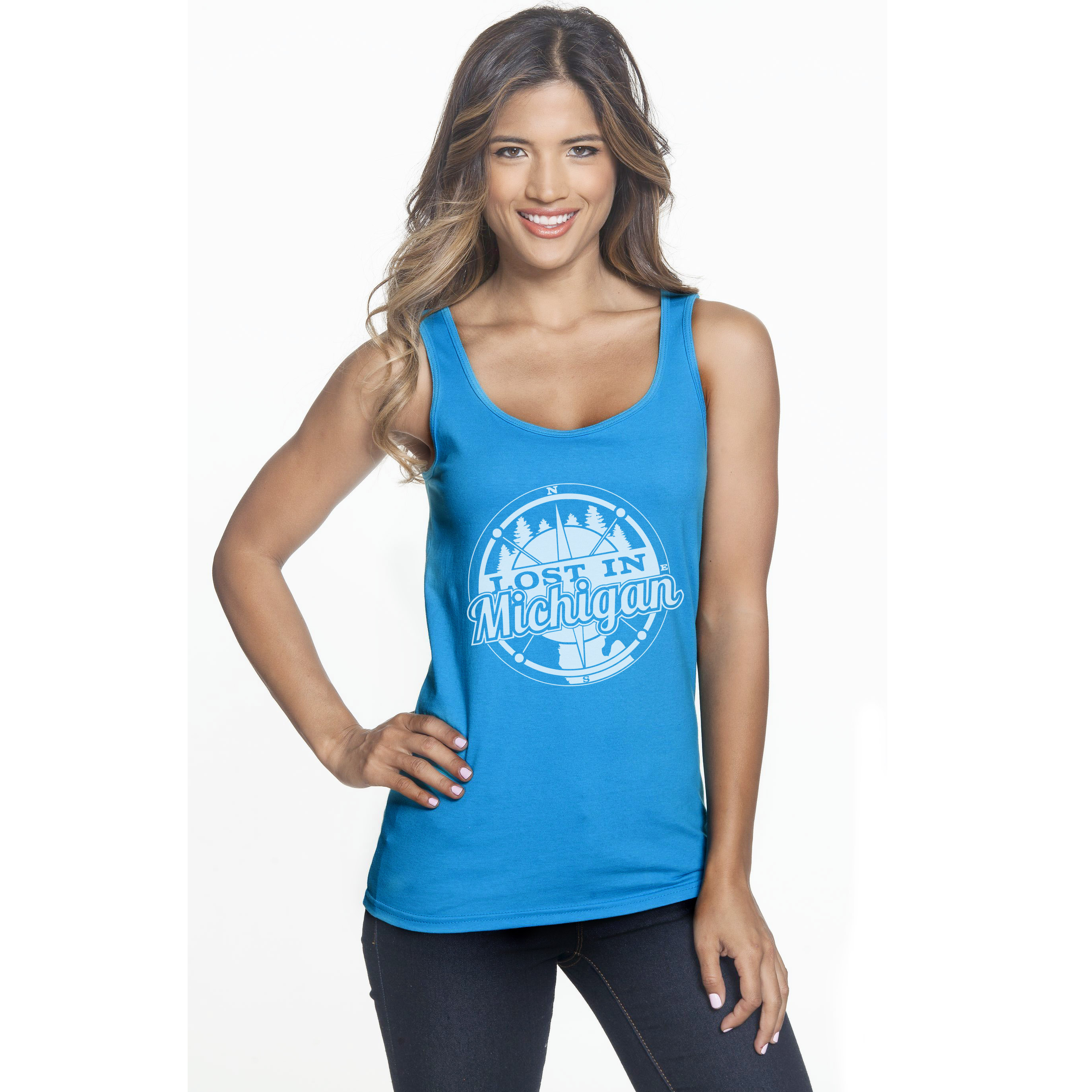 michigan tank top