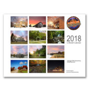 2018 lost in michigan calendar rear sq
