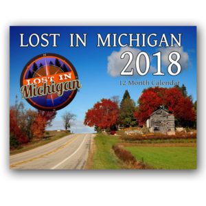2018 lost in michigan calendar