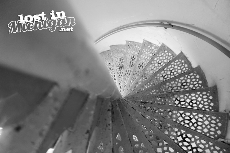 point-iroquois-lighthouse-stairs