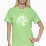 green lost in michigan shirt