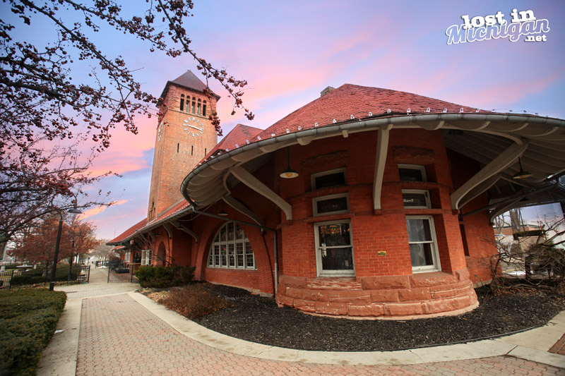Lost in michigan the old railroad station in battle for Railroad stations for sale